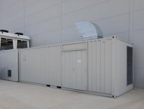 kontajnerova kompresorova stanica- skrutkove kompresory boge v kontajnery