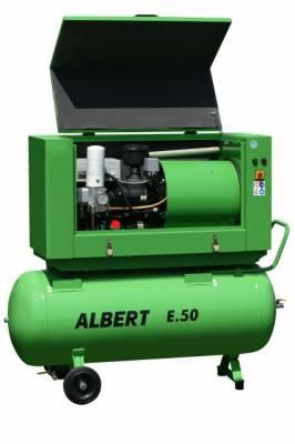 Skrutkový kompresor Atmos Albert E100 Vario